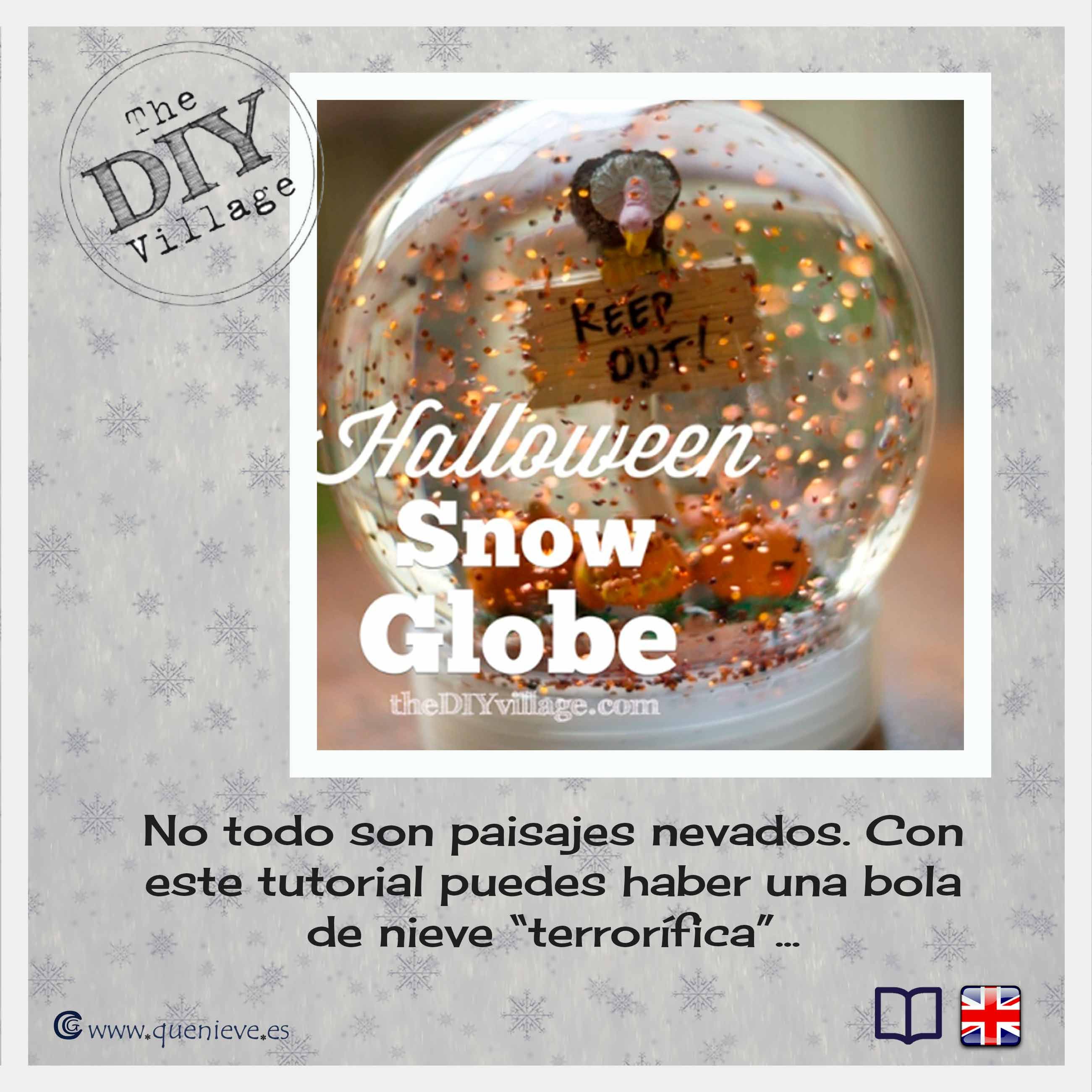 Como hacer bolas de nieve en The DIY Village