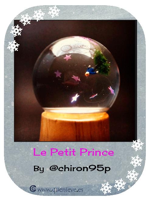 """Bolas de nieve en ilustraciones y dibujos. """"Le petit prince"""" by @chiron95p"""