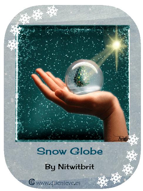 """Bolas de nieve en ilustraciones y dibujos. """"Snow Globe"""" by Nitwitbrit"""