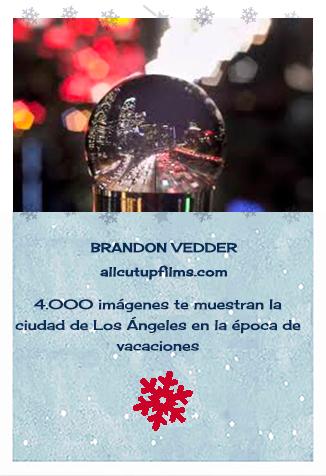 Creadores de bolas de nieve. Brandon Vedder. Los Ángeles Snowglobe