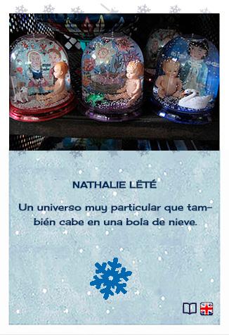 Creadores de bolas de nieve. Nathalie Lété para Le Petit Collins